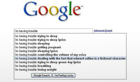 google search autocomplete image